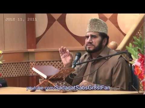 :: SaifulMaluk by AlSheikh Qari Syed Sadaqat Ali :: Interfaith Program UK -- July 11, 2011 -- (Day2)