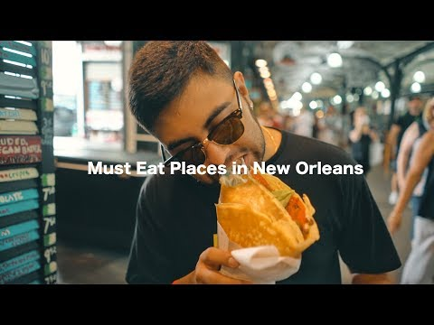 "5 ""Must Eat"" Places in NOLA // New Orleans, LA"