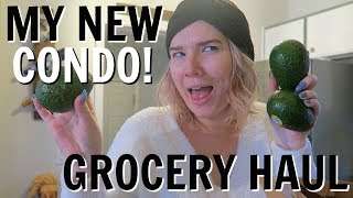 GETTING MY LIFE TOGETHER | MY NEW CONDO, GROCERY HAUL + WORK!