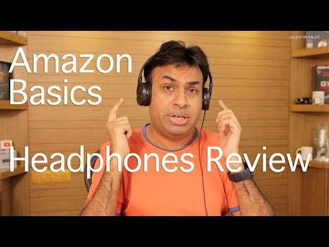Amazon Basic On-Ear Headphones Review - Best Budget Headphones?