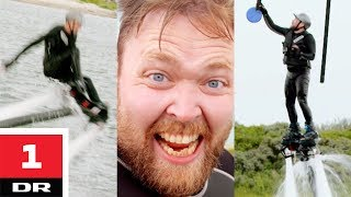 Hjalte vs. Tjelle vs. flyboard | Versus | DR1 thumbnail
