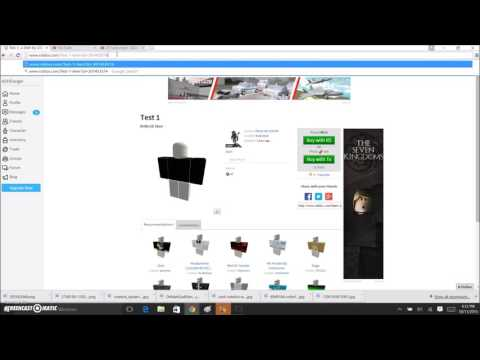 how to make clothing on roblox 2015