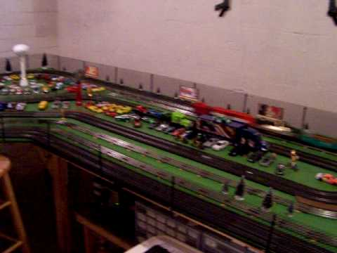 1 43 Slotcar Amp Lionel Train Youtube
