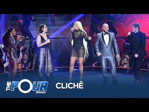 Ludmilla divide o palco com os finalistas do The Four Brasil para cantar sua nova música Clichê