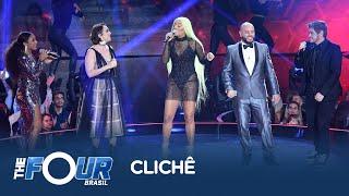 Baixar Ludmilla divide o palco com os finalistas do The Four Brasil para cantar sua nova música Clichê