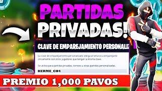 PRIVATE PARTY TORNEOS!!! (WINNER-SKIN) #FORTNITE #PRIVADAS #SCRIM #SCRIM FORTNITE #DIRECTO