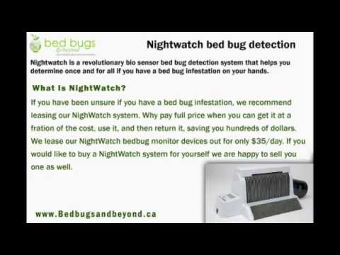 nightwatch bed bug trap and monitor - youtube