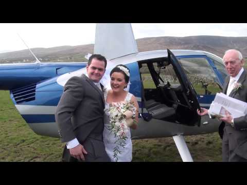 Bride & Groom's Helicopter Departure (Rough Cut)