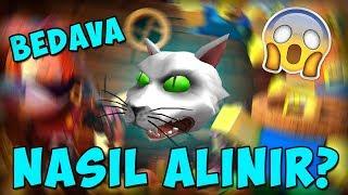 [EVENT] Bedava Çılgın Kedi Kafası! / Possessed Cat Head / Roblox Halloween Event 2018