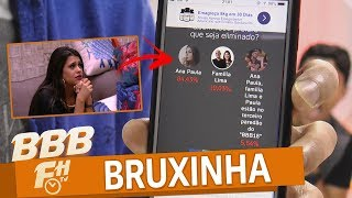 ✂️🎥👀 ANA PAULA deve ser a ELIMINADA segundo ENQUETE 😲 BBB18 | #BBBFH 📺