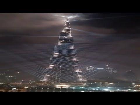 Burj Khalifa Dubai Documentary: The Tallest Building In The World ki sajawat Video