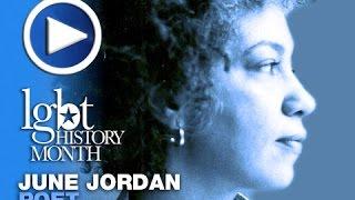 June Jordan LGBT History Month October 22, 2014