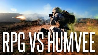 RPG SPECIALIST VS HUMVEE - Squad