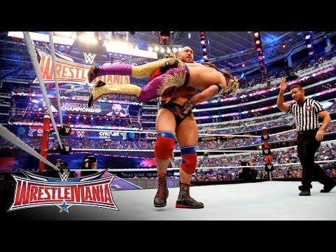 Kalisto vs. Ryback - U.S. Title Match: WrestleMania 32 Kickoff