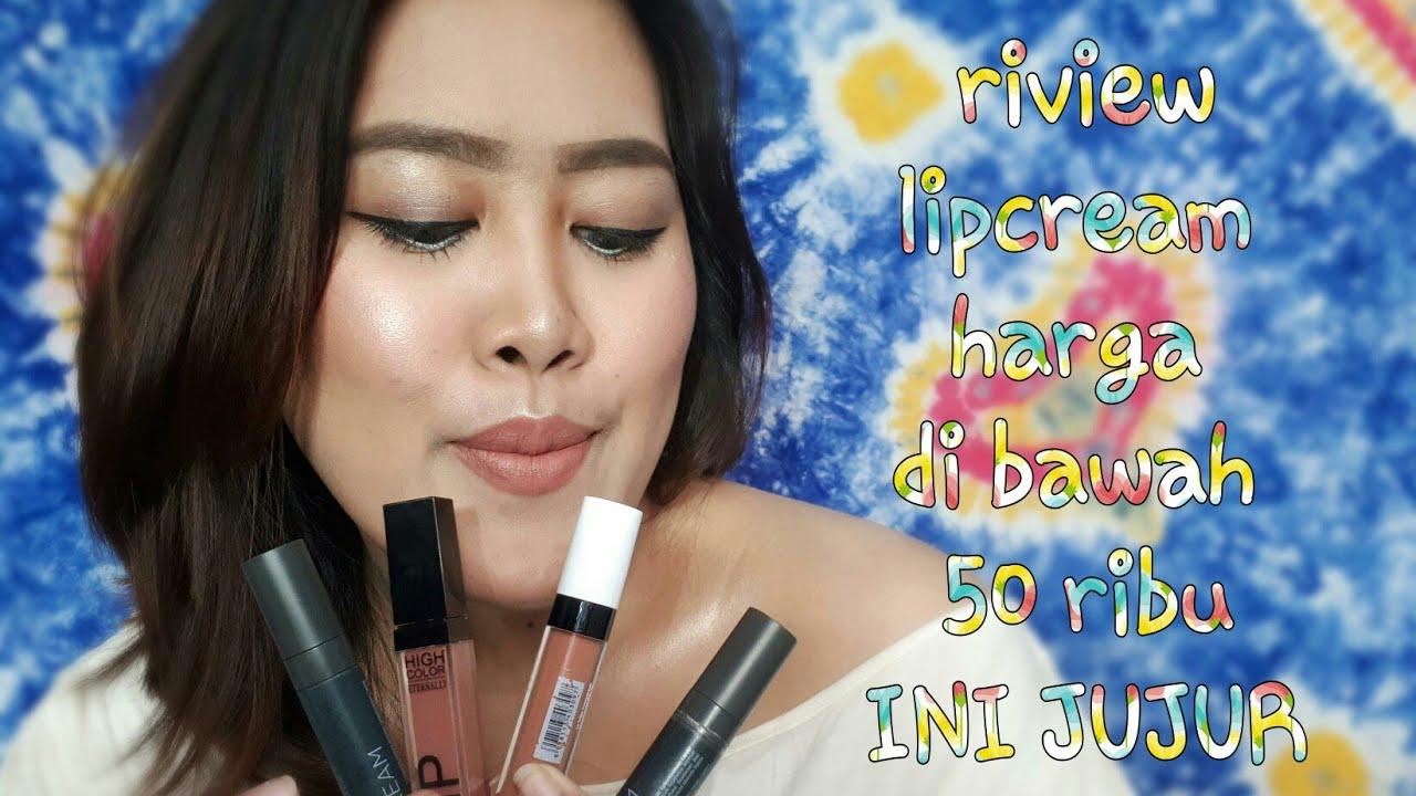 Review Lip Cream Harga Di Bawah 50 Ribu Ini Jujur Nesiasarah La Tulipe Stay Matte Lipcream Atau Latulipe Nesia