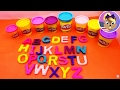 ABC Learning with Play Doh - Play Doh Alphabet Learning for Kids Demo