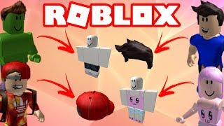 ROBLOX YOUTUBERS ITEMS | PROSIDU, HULKBR, JEFFBLOX, WIN MINEBLOX