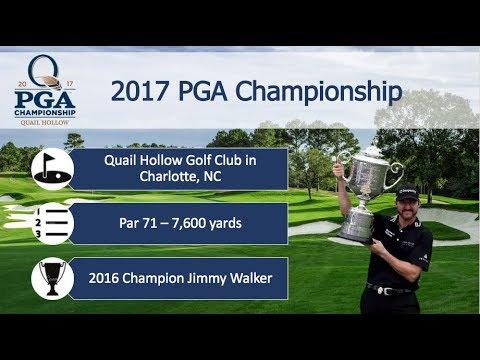 2017 PGA Championship at Quail Hollow Preview & Picks