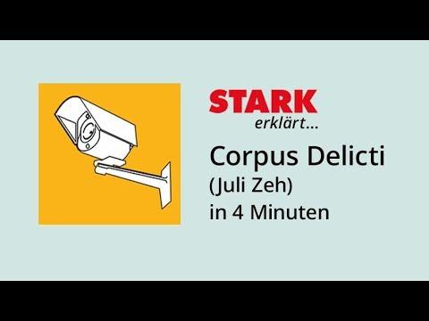 Corpus delicti YouTube Hörbuch Trailer auf Deutsch