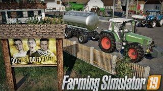 """Stawiamy Baner, Budowa Stodoły, Sprzedaż Mleka & Sianokosy ☆ """"od Zera do Farmera"""" #60 ☆ FS 19"""