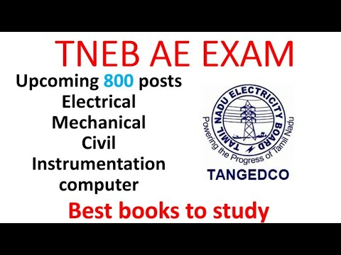 TNEB AE RECRUITMENT 2018 | UPCOMING POSTS | BEST BOOKS TO PREPARE