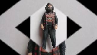 WWE Mick Foley 3D Figure Staramba Photos Review