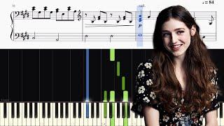 Birdy - Skinny Love (Bon Iver) - Piano Tutorial + SHEETS