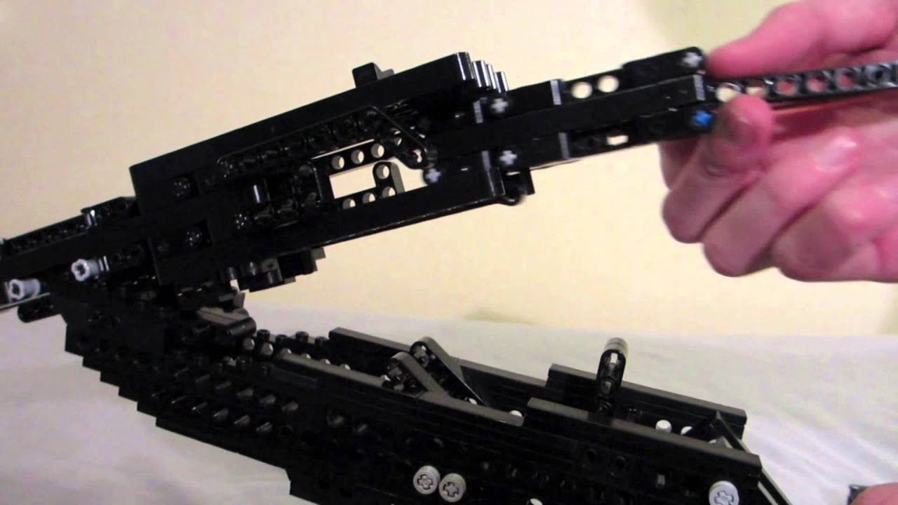 lego double barrel shotgun working youtube