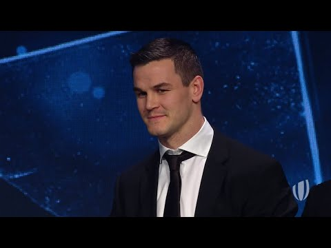 Johnny Sexton - World Rugby Men's 15s Player of the Year