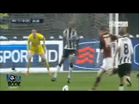 AC Milan vs Udinese 1-0   19.10.2013