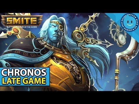 SMITE: SEASON 5 CHRONOS LATE GAME IS CRAZY! Chronos Build and Gameplay! (Bancroft's Start)