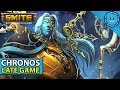 SMITE: SEASON 5 CHRONOS LATE GAME IS CRAZY! Chronos Build and Gameplay! (Bancroft's Start)