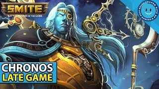 SMITE: SEASON 5 CHRONOS LATE GAME IS CRAZY! Chronos Build and Gameplay! (Bancroft