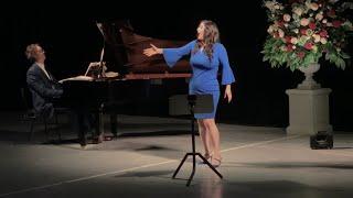 Natalie Aroyan sings an aria from Ernani
