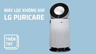 Trên tay máy lọc không khí LG PuriCare: đẹp và chức năng khử mùi đáng giá!