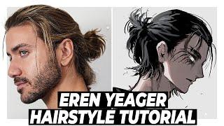 EREN YEAGER Hairstyle TUTΟRIAL | Alex Costa