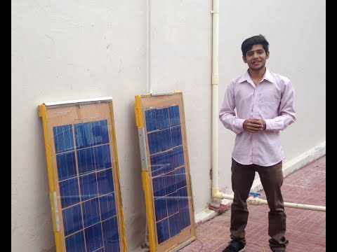 How to make SOLAR PANEL from SCRATCH-1