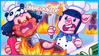 Overcooked 2 but we would never pass a health inspection...
