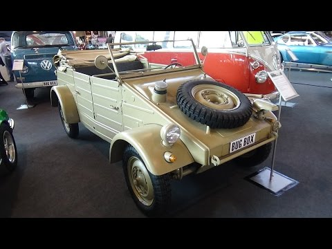 1945 - Volkswagen Typ 82 Kübelwagen - Exterior and Interior - Retro Classics Stuttgart 2016
