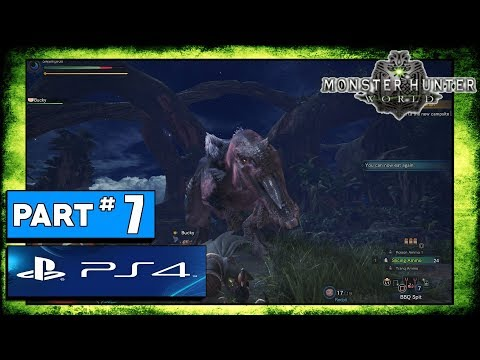Monster Hunter Worlds Playthrough Part 7: Ancient Forest Expedition