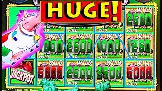 MEGA BIG WIN!! ★ I GOT THE UNICOW IN THE BONUS!!! ★ ON MY BIRTHDAY! ★ & A FULL SCREEN! ★ BRENT SLOTS