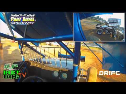 Justin Henderson In-Car 410 Qualifying | Port Royal Speedway | Port Royal, PA  | June 30, 2011