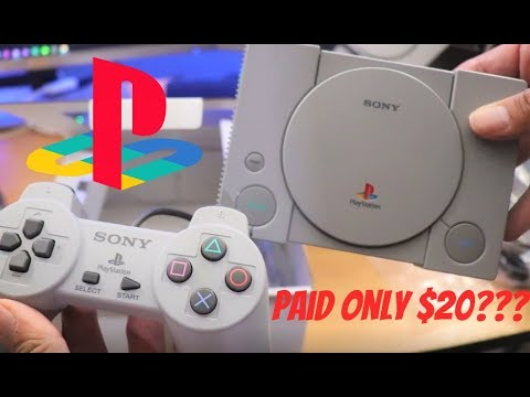 i-bought-the-sony-playstation-classic-for-$20-(best-buy)