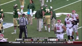 2013 New Mexico Bowl  Colorado State vs  Washington State 1st Half 720p