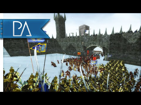 FORTRESS OF DARKNESS - Third Age Total War Gameplay