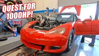 Download The Auction Corvette BOGS DEEP For 1,000hp... Can the Junkyard Engine Do It?? Mp3 and Videos