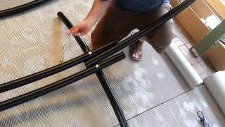 How To Assemble Your Steel Roman Arc Hammock Frame