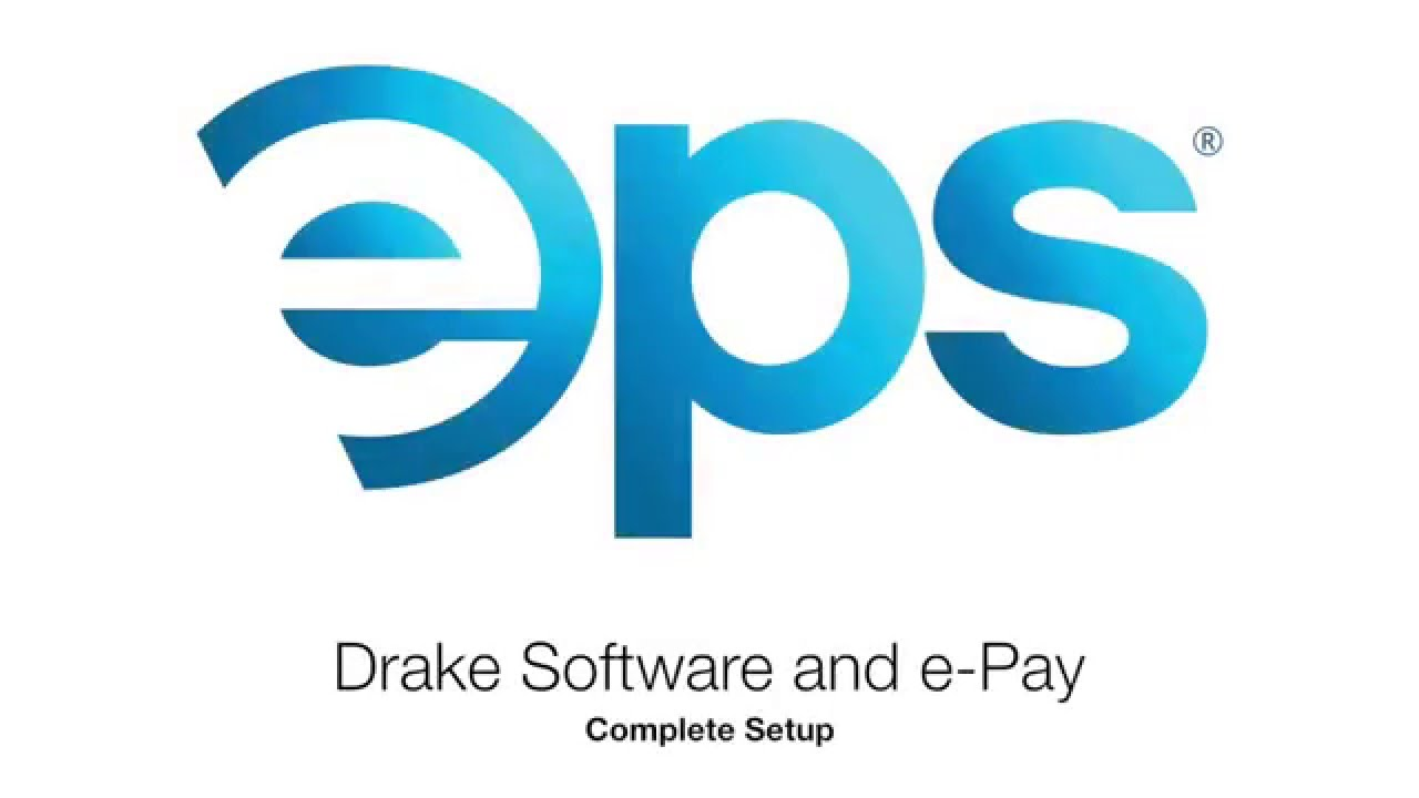 E pay and drake software setup youtube for Drake program