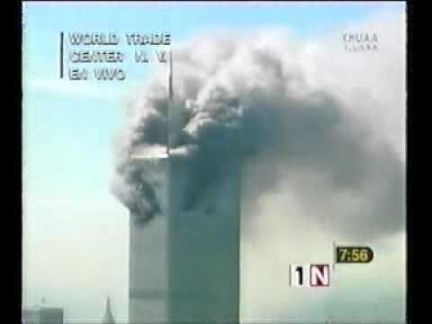 """COBERTURA NOTICIAS: 11 DE SEPTIEMBRE 2001: PRIMEROS REPORTES: JORGE BERRY """"PRIMERO NOTICIAS"""""""