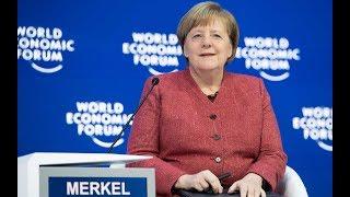 WELT-DOKUMENT: Rede von Kanzlerin Merkel beim Weltwirtschaftsforum in Davos